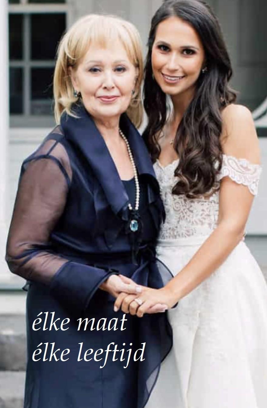 Moeders van het bruidspaar.